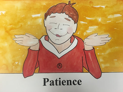 Patience Song Cards