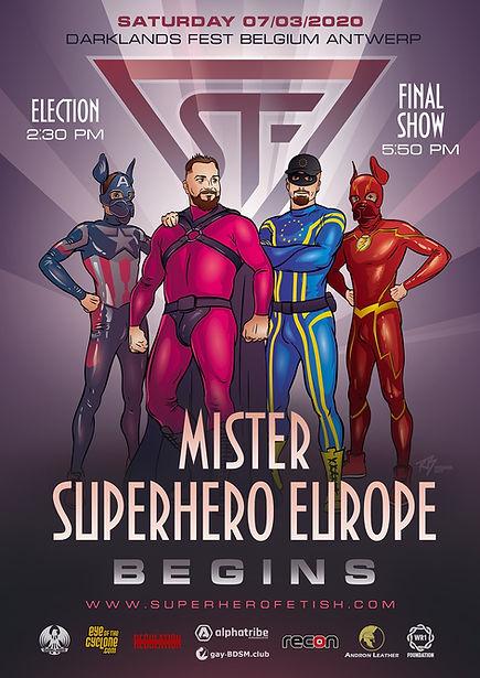 Mr. Superhero Europe - Begins -Poster 20