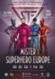 Mr. Superhero Europe - Begins -Poster 20
