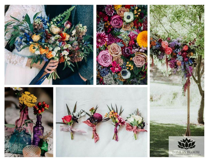 Wedding Floral Trends for the Fall Season