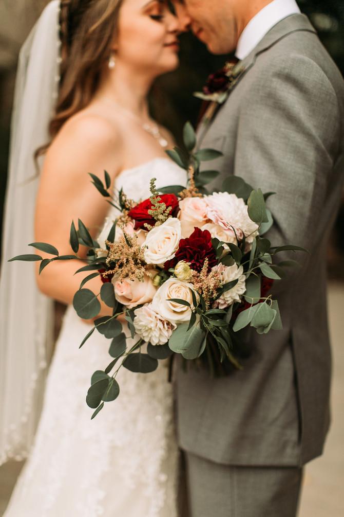 Melissa & Tyler's Wedding - Romantic Florals!