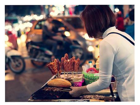 An outlook of the High-Spirited Hanoi Markets, Vietnam