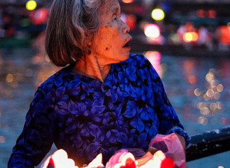 Love for the Lanterns at Hoi An, Vietnam - What happens the morning after?