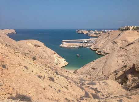 Qantab, The rugged beauty - A Road trip from Dubai to Muscat, Oman.