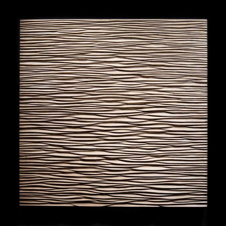 Chêne (Oak). 80x80cm