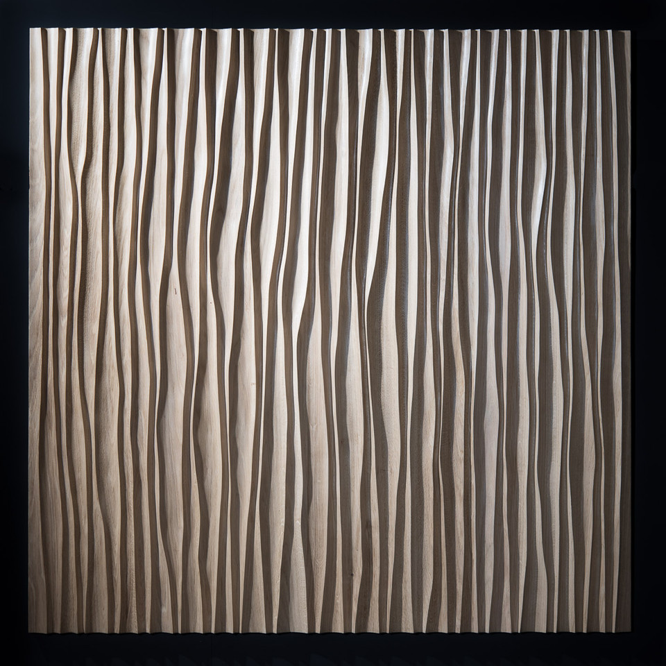 Chêne (Oak). 120x120cm