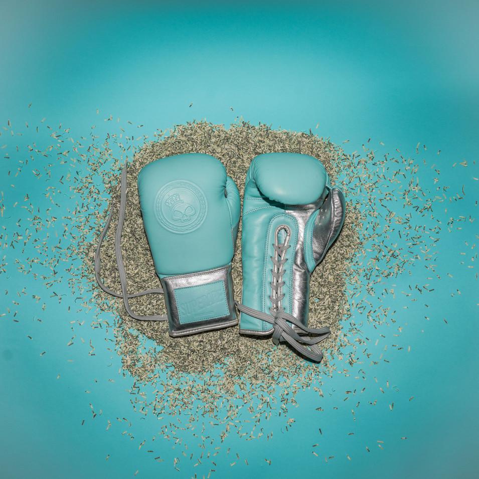 Superare Sterling Silver Velcro Gloves