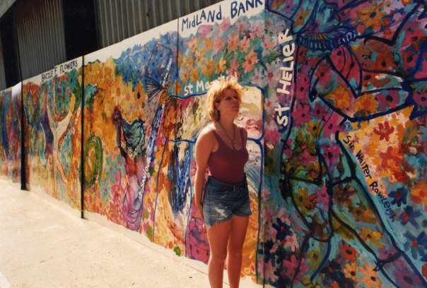 Jersey Mural, 1991