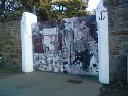 Sam Burns Gates Mural 2009