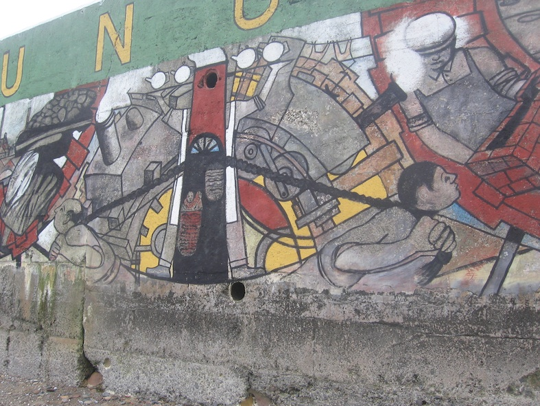 Miners transportation mural 2005