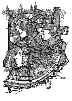 Dancing a castle