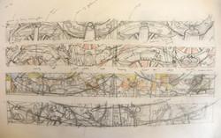 Mining Transport mural sketch 2003