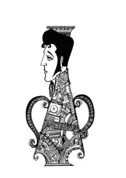 Elvis vase
