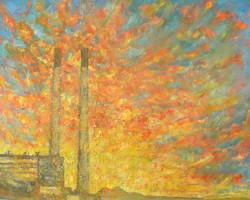 Cockenzie Powerstation sunset