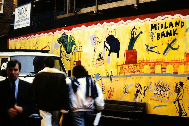 Blackpool Mural 1990
