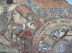 Shale Mural Uphall 2011