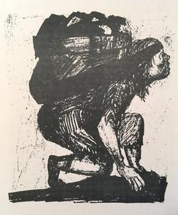 Agnes Moffat coal bearer