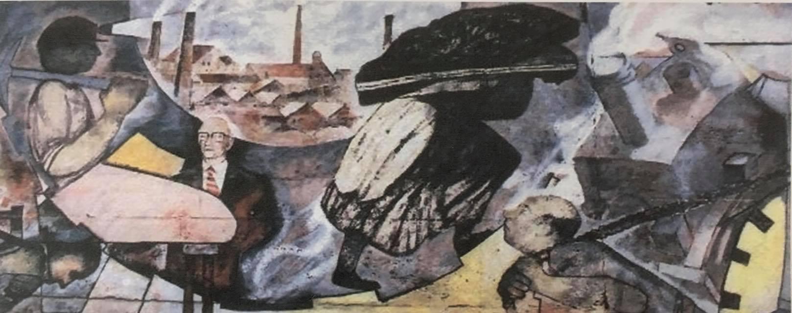 Woman coal bearer
