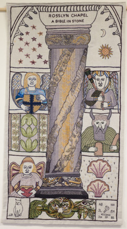 Rosslyn Chapel Panel