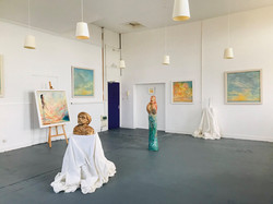"""View of """"For One Day"""" Exhibition"""