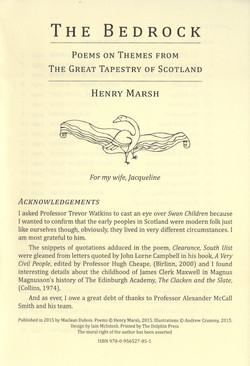 The Bedrock preface