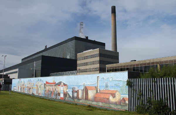 Cockenzie Powerstation Mural 2004