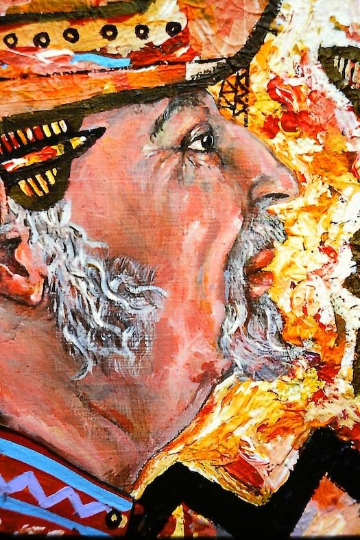 Detail of a portrait 1994