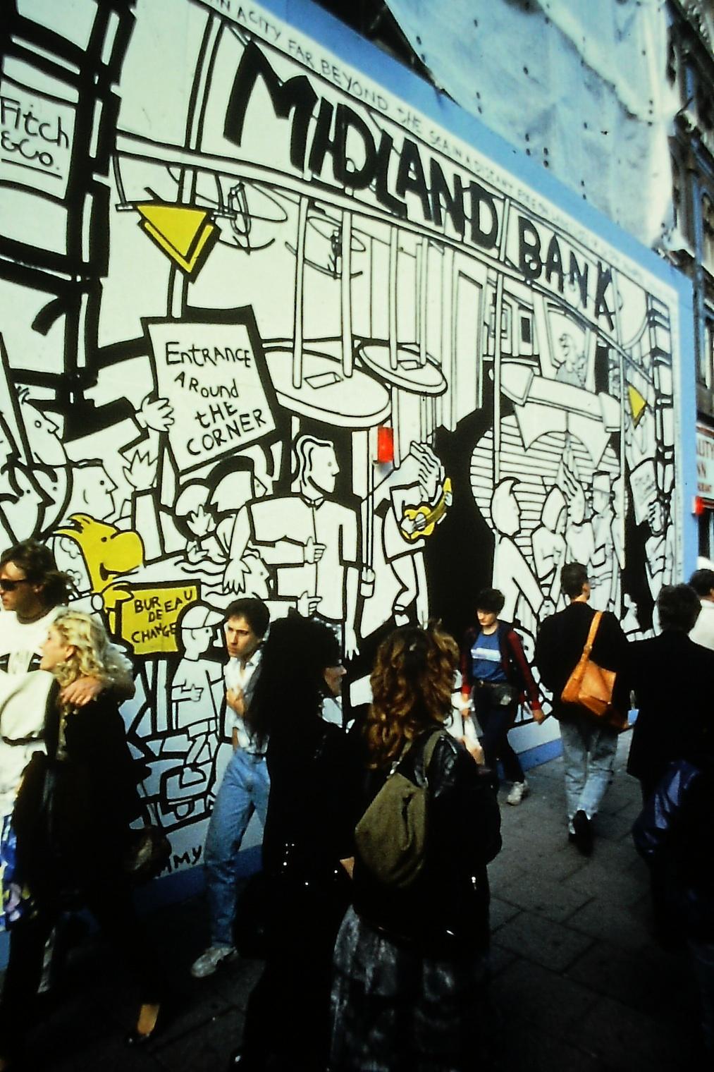Midland Bank Murals 1988 - 1990