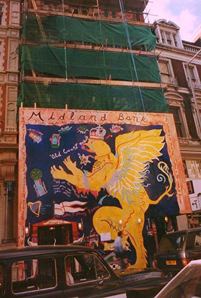High Street Kensington Mural 1990