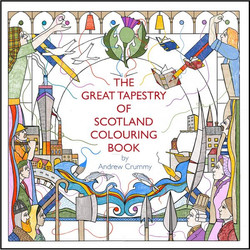Great Tapestry of Scotland colouring book