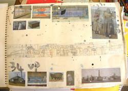 Powerstation mural sketch 2004