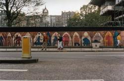Scott Monument Mural