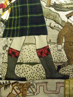 Gordon Highlanders Tapestry