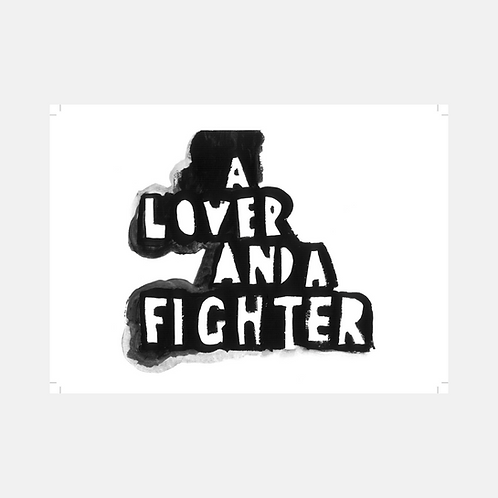 A Lover And A Fighter Poster