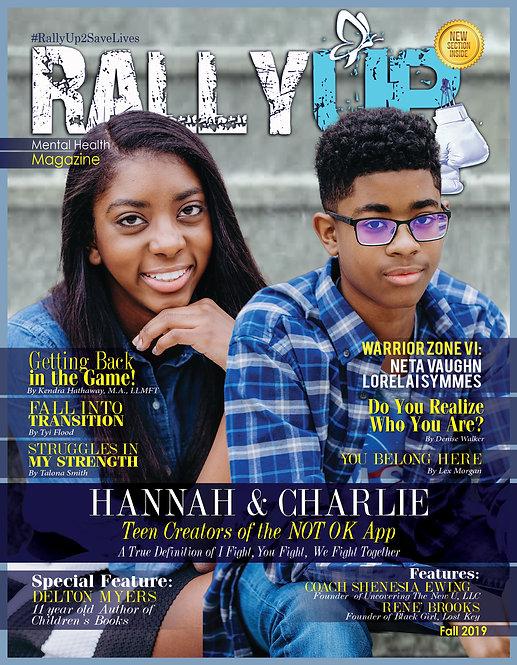 Rally Up Magazine Fall 2019 Edition