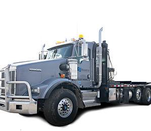 Wate Hauling Truck