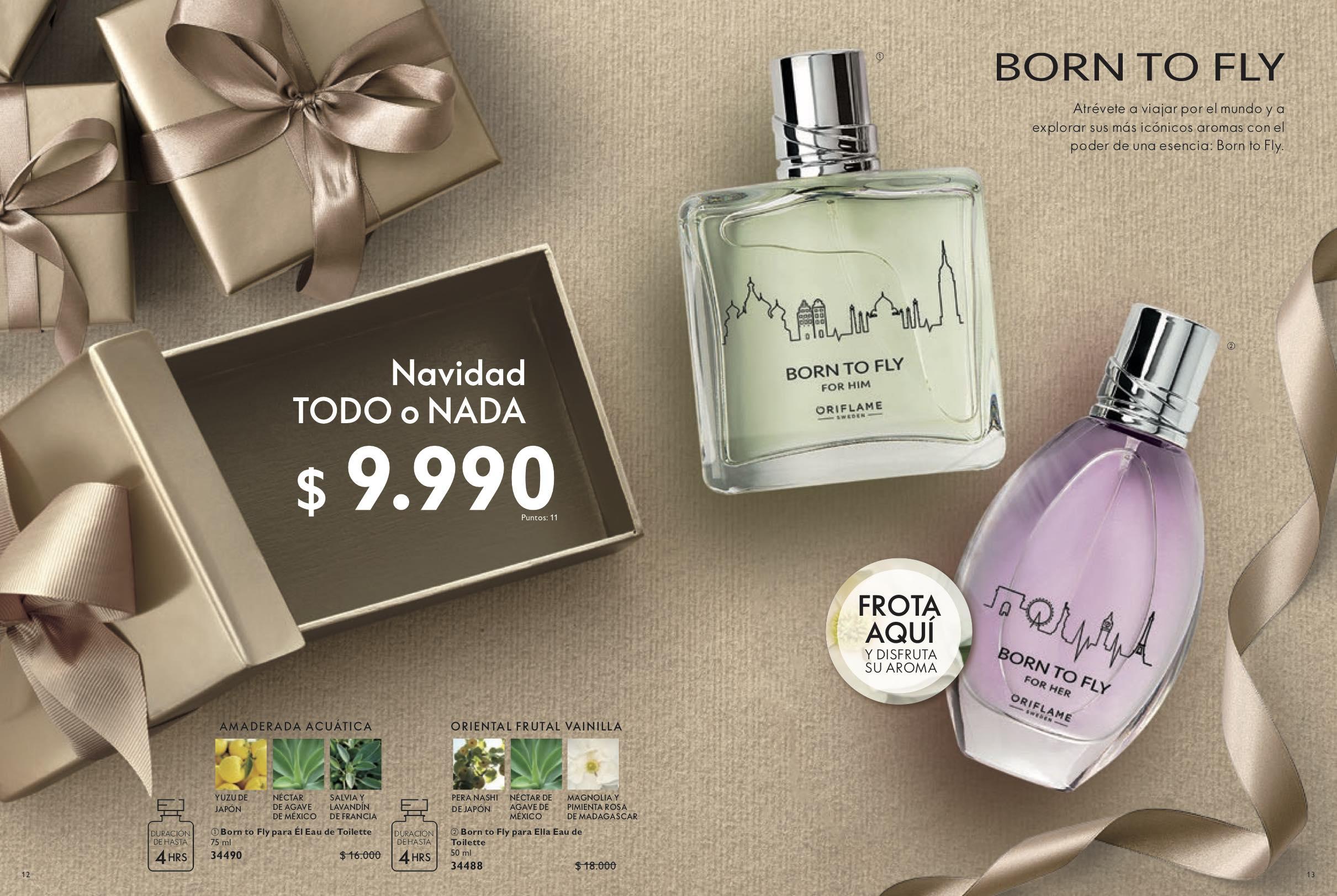 navidad perfume