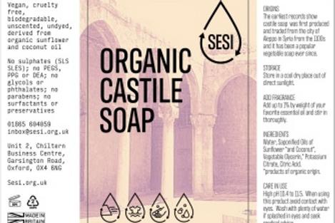 Organic Castile Soap - £1.10/100ml