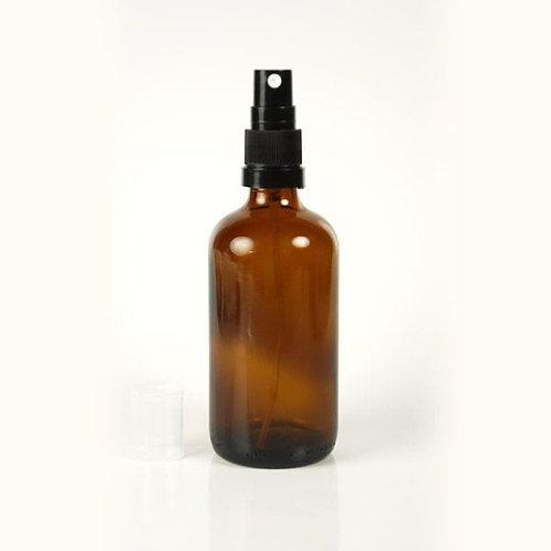 Amber Glass Spray Bottle - 100ml