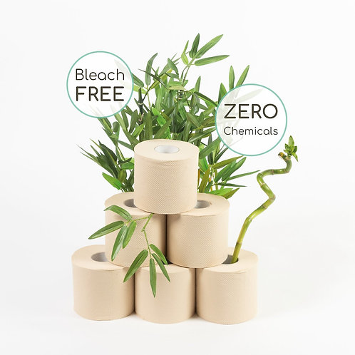Organic Bamboo Toilet Paper x 9