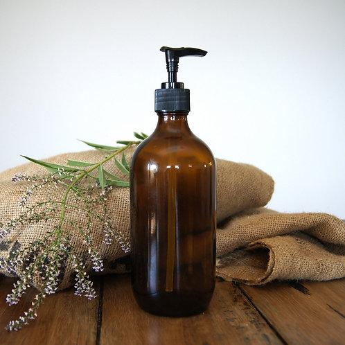 Amber glass bottle - 500ml