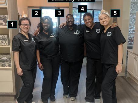 New Saturday Dental Assistants!