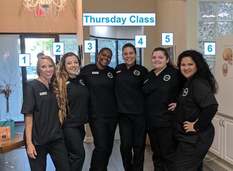 New Thursday Students!