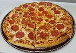 fresh made pizza