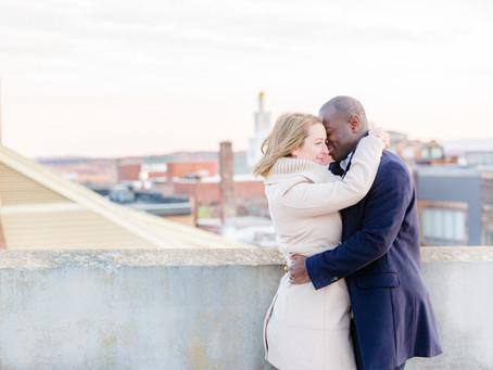 Emma and James' Rooftop Burlington Session