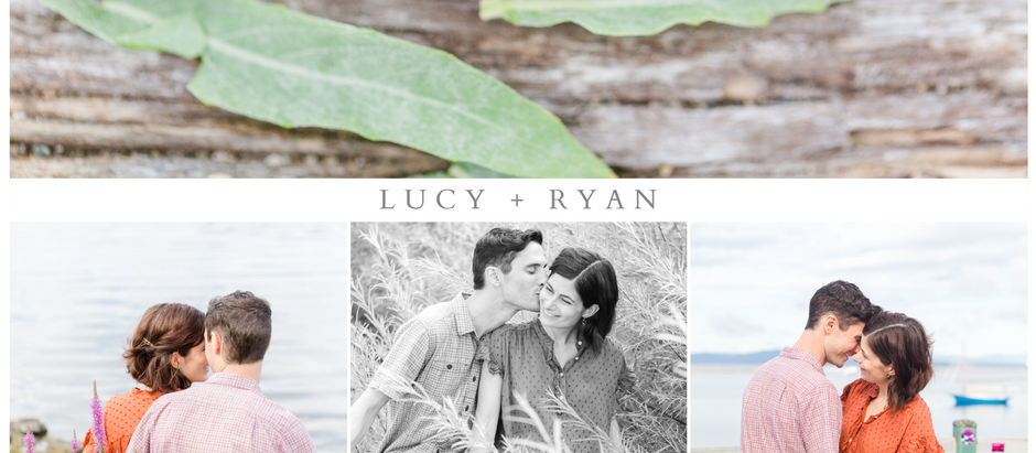 Lucy and Ryan's Burlington Engagement Session