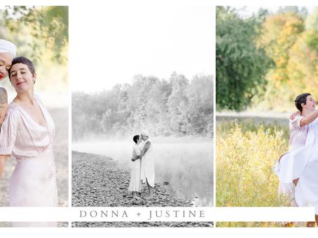 Donna + Justine
