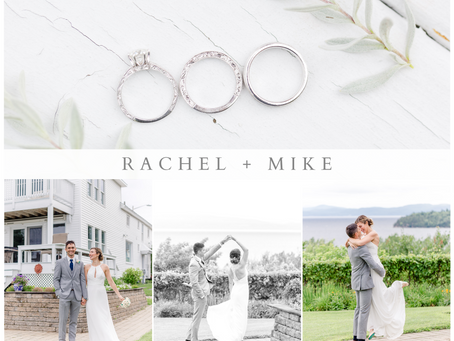 Rachel and Mike's Lake Champlain Wedding