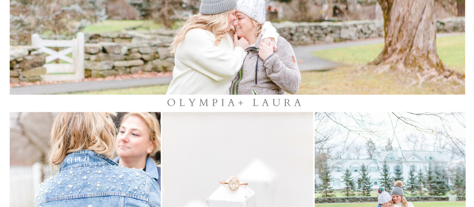 Olympia and Laura's Woodstock Engagement Session