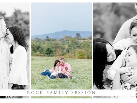 Rock Family Session at Wheeler Park